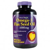 Natrol Flax Seed Oil 200 дражета