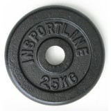 Стоманен диск inSPORTline 2,5 кг