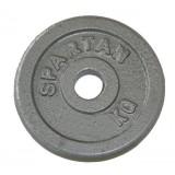 Стоманени тежести Spartan 2  x 0,5 кг / 30 мм