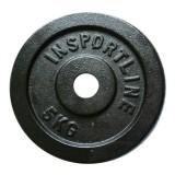 Стоманен диск inSPORTline 5 кг