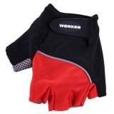 Вело ръкавици WORKER S900 червени