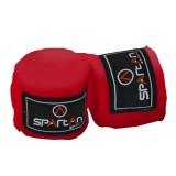 Боксов бинт Spartan 3 метра червен