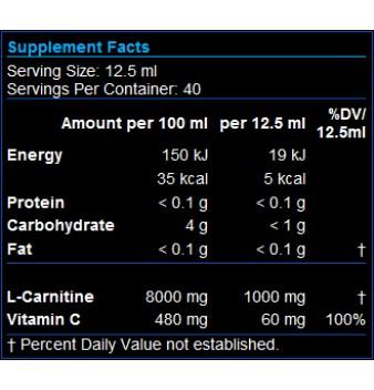 Scitec Carni-X Liquid 40 000 500 мл