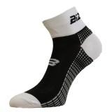 Чорапи за колоездене BIZIONI BS21 черно-бели