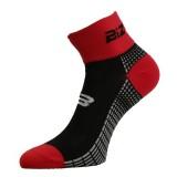 Чорапи за колоездене BIZIONI BS21 черно-червени