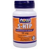 NOW 5-HTP 50 мг 30 капсули