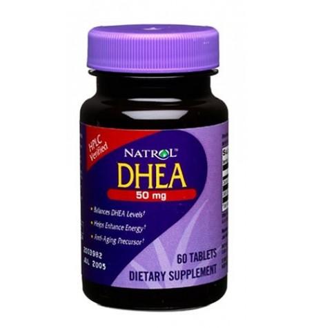 Natrol DHEA 50 mg 60 таблетки