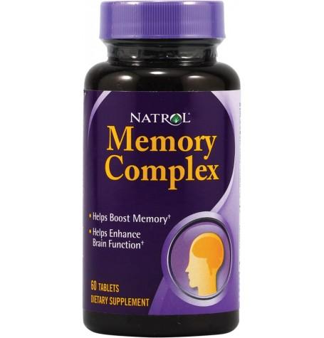 Natrol Memory Complex 60 таблетки