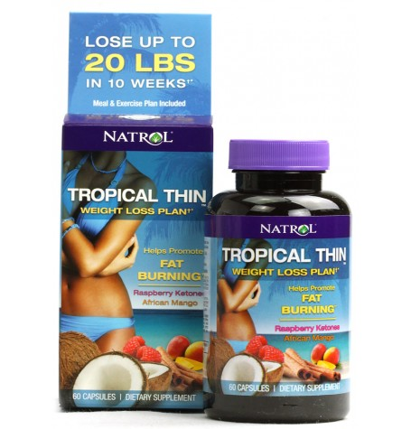 Natrol Tropical Thin 60 капсули