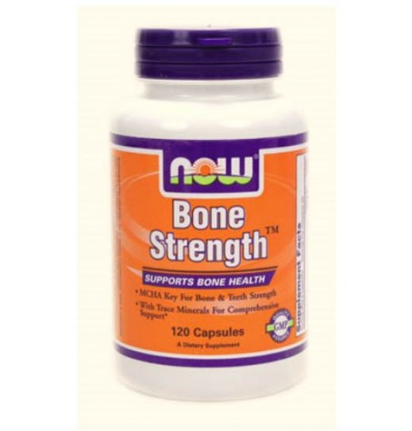 NOW Bone Strenght 120 капсули