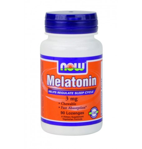 NOW Melatonin 3 mg 60 капсули