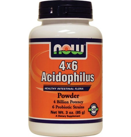NOW Acidophilus 4X6  85 гр