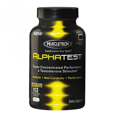 MuscleTech Alpha Test 112 капсули