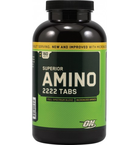 Optimum Nutrition Superior Amino 2222 160 таблетки