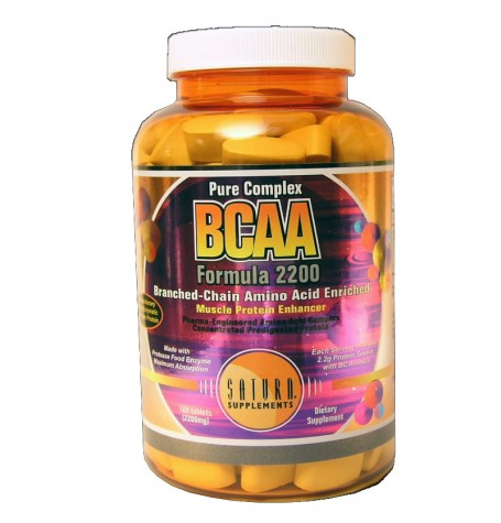 Saturn BCAA Formula 2200 mg 160 таблетки
