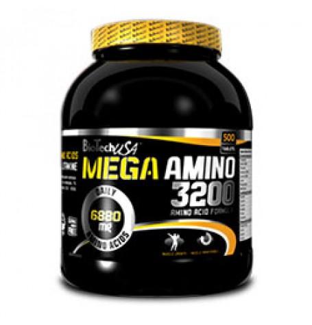 Biotech Mega Amino 3200 500 таблетки