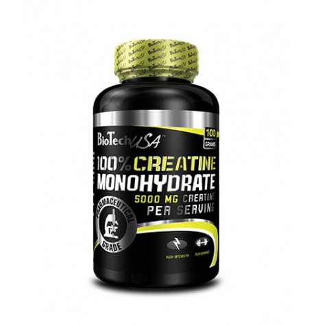 Biotech 100% Creatine Monohydrate 100 гр