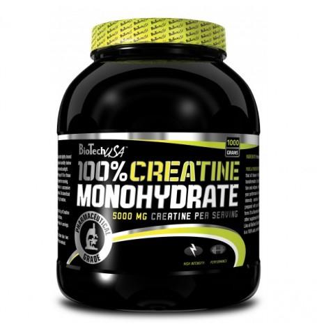 Biotech 100% Creatine Monohydrate 1000 гр
