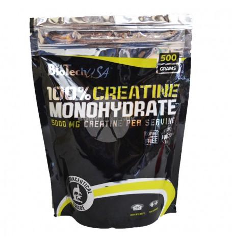 Biotech 100% Creatine Monohydrate 500 гр плик