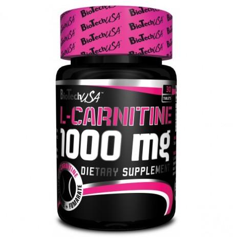 Biotech L-Carnitine 1000 mg 30 таблетки