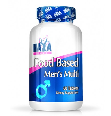 HAYA LABS Food Based Men's Multi 60 таблетки