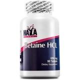 HAYA LABS Betaine HCL 650 mg 90 таблетки