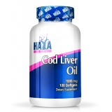 HAYA LABS Cod Liver Oil 1000 mg.100 гел-капсули