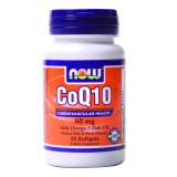 NOW CoQ10 60 mg +Omega 3 30 дражета