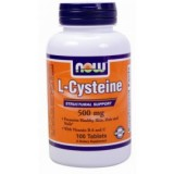 NOW L-Cysteine 500 mg 100 таблетки