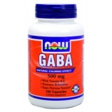 NOW GABA 500 mg + B6 100 капсули