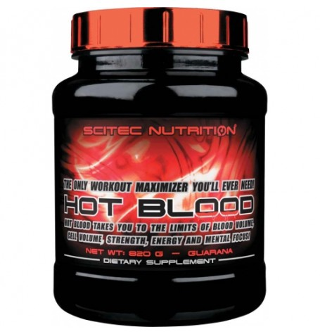 Scitec Hot Blood 3.0 820 гр