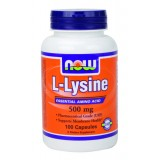 NOW Lysine 500 mg 100 таблетки