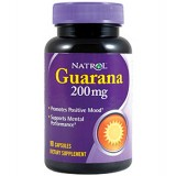Natrol Guarana 200 mg 90 капсули