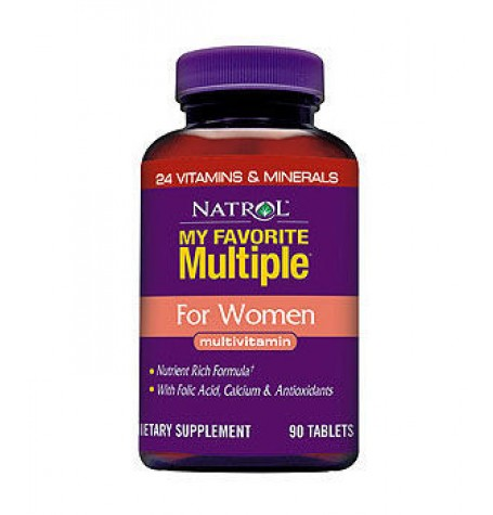 Natrol My Favorite Multiple For Women 90 таблетки