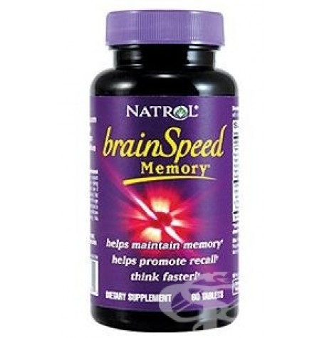 Natrol brainSpeed Memory 60 таблетки