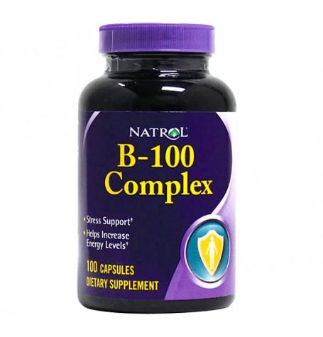 Natrol B-100 Complex 100 таблетки