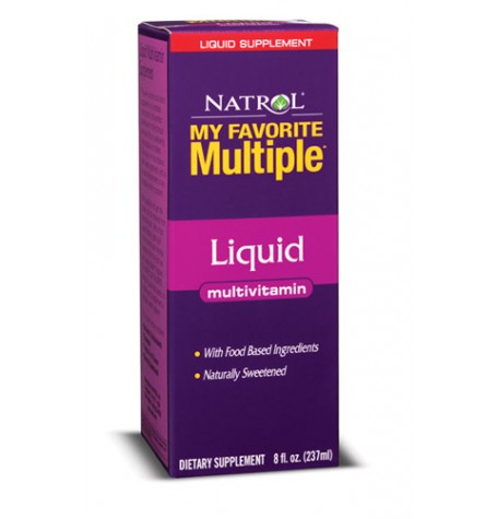Natrol My Favorite Multiple Liquid 240 мл