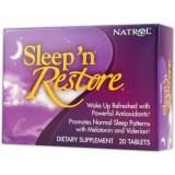 Natrol Sleep 'N' Restore 20 таблетки