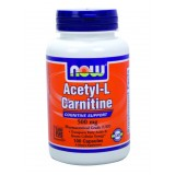 NOW Acetyl L-Carnitine 500 mg 100 капсули