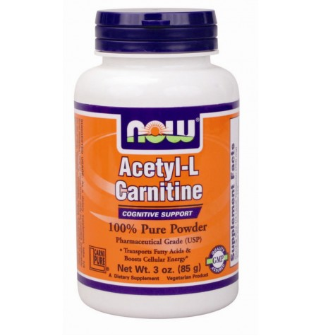 NOW Acetyl L-Carnitine Powder 85 гр.