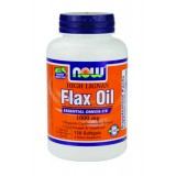 NOW Flax Oil (High Lignan) 1000 mg 120 дражета