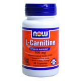 NOW L-Carnitine 500 mg 30 капсули