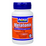 NOW Melatonin 3 mg 180 капсули