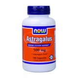 NOW Astragalus 500 mg 100 капсули