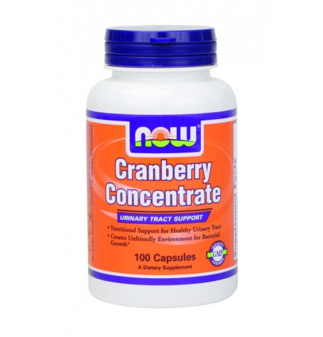 NOW Cranberry Concentrate 700 mg  100 капсули