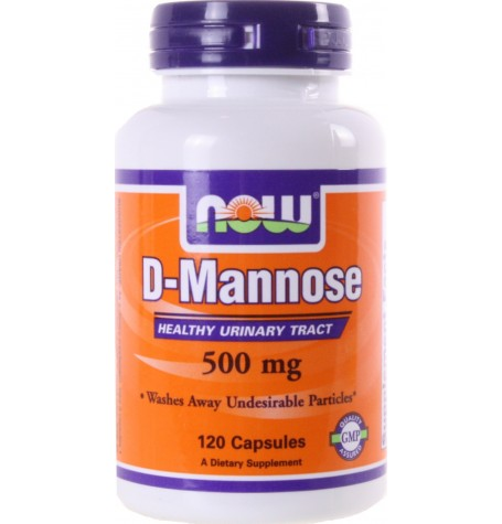 NOW D-Mannose 500 mg 120 капсули