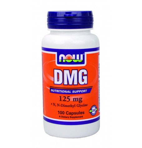 NOW DMG 125 mg 100 капсули