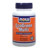 NOW Eco Green Multi 60 таблетки