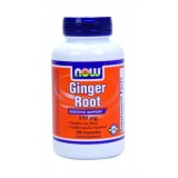 NOW Ginger Root  550 mg 100 капсули