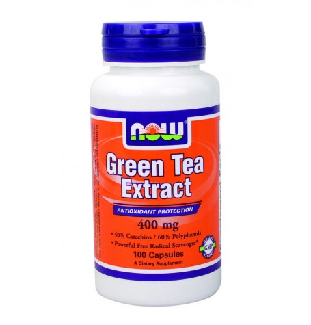 NOW Green Tea Extract  400 mg 100 капсули